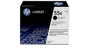 HP OEM Toner for P3011, P3015  CE255X- Black